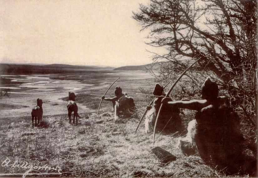 Selknam hunters